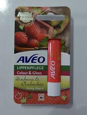 Aveo Lippenpflege Stift Himbeere Rhabarber Limited Edition fruchtig gloss colour