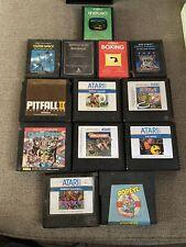 Atari 5200 Game Cartridges Lot Of 8 - Plus 5 Atari 2600 Games!