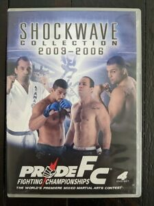 Pride FC Shockwave Collection 2003-2006 DVD Out of Print RARE 4-Disc Set OOP