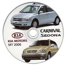 Kia Carnival - Sedona (MY 2006>) manual de taller - workshop manual