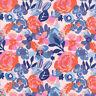 Moda Fabric Voyage Kew Mandarin - Per 1/4 Metre