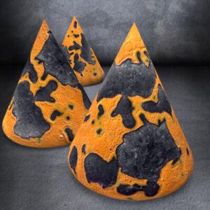 """Martellato Orange - GP093B"" Ceramics Effect Glazes Earthenware Painting Pottery"