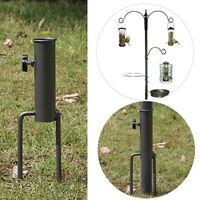 Bird Feeder Pole Hangers Feeding Station Stabilizer Feet SpikesStand Garden