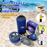Inflatable Camping  Portable 11 Litres Outdoor Car Washing Pets  T