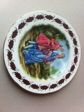 Paragon Antique Painted Plate Beautiful Condition