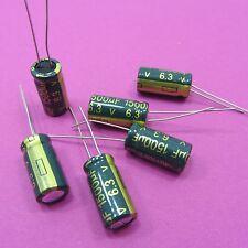 10V 1500uF condensadores electrolíticos alta frecuencia baja ESR chongx Genuina