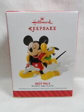 2014 Hallmark Keepsake Ornament Mickey and Pluto Best Pals Loc B42