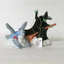 Wizard of Oz 17312 WICKED WITCH & FLYING MONKEY Ceramic Salt & Pepper Shakers