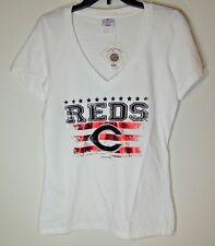 CINCINNATI REDS * NEW Ladies Large T-Shirt * Graphic Tee NWT Tags MLB Baseball L