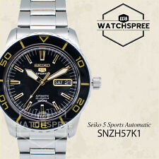 Seiko Men 5 Sports Automatic Watch SNZH57K1 AU FAST & FREE