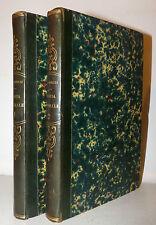 Brugnatelli: STORIA NATURALE 2 voll. 1830 Pavia Bizzoni 2a ediz. Tavole Legatura