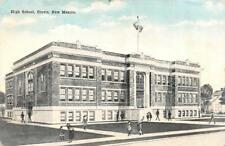 CLOVIS, NM New Mexico     HIGH SCHOOL~Students in Front      Postcard
