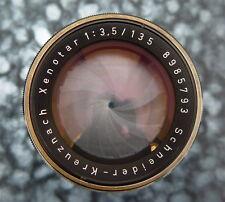 Schneider 135mm f3.5 Xenotar Barrel Lens   #8985793