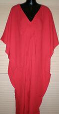 Long  Kaftan Dress Casual or dressy Grecian fall Boho Plus size 14-24 New