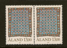 ALAND : 1990 13m definitive  SG 15 unmounted mint pair