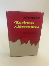 Business Adventures 1st edition 2nd printing John Brooks