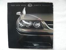 Chevrolet Impala - US-Prospekt Brochure - Großformat - 2000
