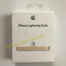 iPhone Lightning Dock Gold Apple Charger Sync ML8K2AM/A  OEM Genuine *NEW
