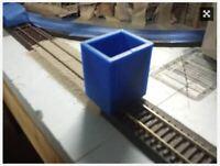 HO Train Rail Ballasting Tool