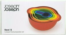 Joseph Joseph Nest Bowls NEW Nest 8 Piece Rainbow Measuring Cups Non Slip
