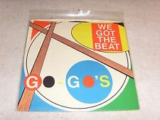 The Go-Go's - We Got The Beat - 45RPM Single Vinyl Record