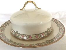 Wm.Guerin  Limoges France Dome Top BUTTER DISH - Vintage - FREE Shipping