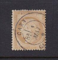 France stamp #56, used, 1871, nice cancel