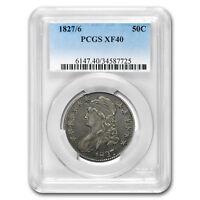 1827/6 Capped Bust Half Dollar XF-40 PCGS - SKU#169437