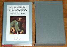"""Altomonte """"IL MAGNIFICO - VITA DI LORENZO DE' MEDICI"""" Rusconi (cofanetto)"""
