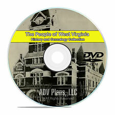 West Virginia, WV, People Civil War History and Genealogy 74 Books DVD CD B19