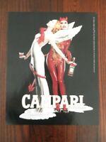 2007 PRINT AD, Campari, #12 Il Buono e il Brutto, Angel & Devil, Good & Bad