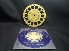 Vintage Sawyers ViewMaster Tan Reel 176 Petrified Forest Arizona Hand Lettered