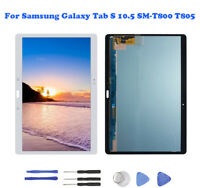 For Samsung Galaxy Tab S 10.5 SM-T800 T805 LCD DisplayTouch Screen Digitizer T02