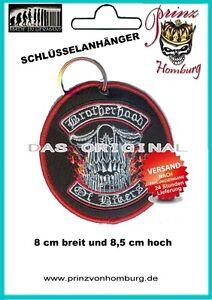 BROTHERHOOD OF BIKERS SCHLÜSSELANHÄNGER  Key chain  Biker Rocker NEU