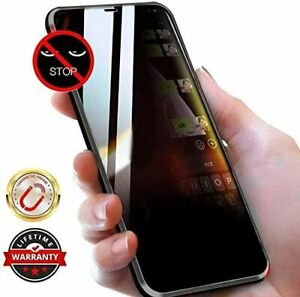 Anti Peep Spy Phone Case Cover iPhone 11 Pro Max SE 2020 Tempered Glass Magnetic