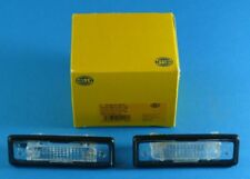 passend für BMW 5er E28 + 3er E30 NEU 2x HELLA Kennzeichenbeleuchtung
