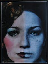 Jan Saudek Photo Kunstdruck Poster Art  Print 30x42 Two faces of Miroslava 1974