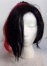 Black / Red Mood Swing Vampire Gothic Wig New Halloween Costume Accessory