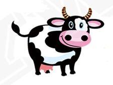 IRON ON COW APPLIQUE 3933-AB