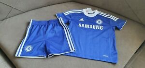 Baby Boy Adidas Chelsea Football Kit Age 12-18 Months