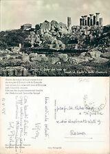 AGRIGENTO - TEMPIO DI GIOVE CON VISTA TEMPLI ERCOLE E CONCORDIA (rif.fg.5506)