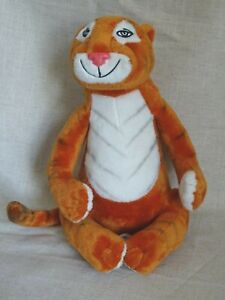 The Tiger Who Came To Tea Soft plush Toy Harper Collins 2012