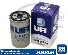 FILTRO CARBURANTE GASOLIO UFI 24H2O04 ALFA 147 1.9 JTD SEPARATORE ACQUA 77362338