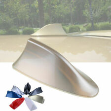 Gold Car Shark Fin Roof Antenna Dummy Decorative Aerial Cover Trim Fit For BMW