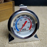 EE_ Digital Temperature Oven Thermometer Gauge Stainless Steel Food Cooking Tool