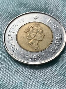 1996 Canada 2 Dollars