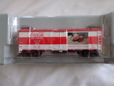COCA COLA ATHEARN 1/87 SCALE 40' STEEL REEFER SEASONS GREETINGS CAR 8331 #6 OF 6