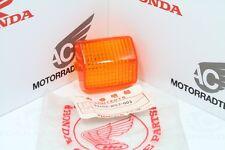 Honda VTR 250 Blinkerglas Glas Blinkleuchte Eckig Lens Winker Orig. Neu