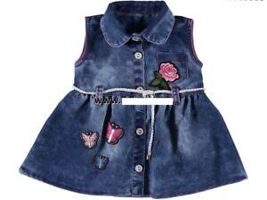 Baby Mädchen Jeanskleid, Kleid Gr.  74 oder 92