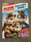 Alvin and the Chipmunks Coloring and Activity Book W/ Stickers Squeakquel NEW